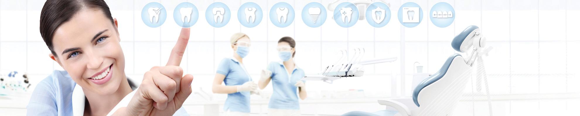 Zahnärztinnen bei der Arbeit